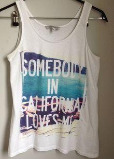 Kup mój przedmiot na #vintedpl http://www.vinted.pl/damska-odziez/koszulki-na-ramiaczkach-koszulki-bez-rekawow/9394775-koszulka-na-ramiaczkach-z-napisem