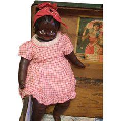 Vintage Black doll so adorable