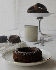 Oatgasm: Chocolate Oatmeal Baked Donuts (Flourless)