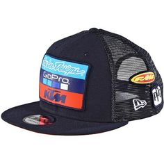 Troy Lee Designs 2017 KTM Team LIC Men's Snapback Adjustable Hats