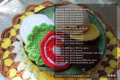 Amigurumi Food: Free pattern, burger 2