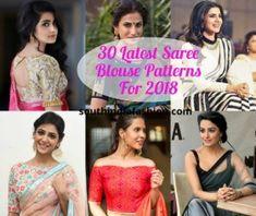 Stylish saree blouse sleeves designs 13 latest saree blouse patterns for latest saree blouse designs of 2018 for bridal blouse designs 2020 latest saree 30 Latest Saree Blouse Patterns For … Brocade Blouse Designs, Pattu Saree Blouse Designs, Blouse Back Neck Designs, Saree Blouse Patterns, Designer Blouse Patterns, Saree Jacket Designs Latest, Latest Saree Blouse, Latest Sarees, Cold Shoulder Saree Blouse