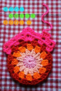 Crochet Granny Home - Tutorial ❥ 4U // hf