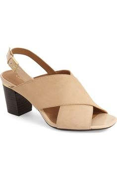 Calvin Klein 'Cindya' Slingback Sandal (Women) available at #Nordstrom