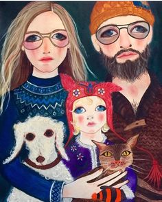 Family, one from a little while ago, I'm back to painting secrets X