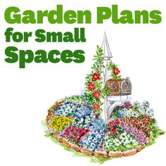 Small-garden Plans And Ideas