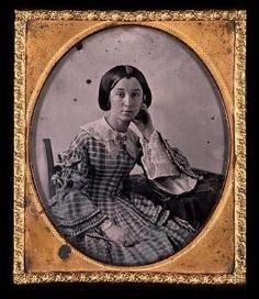 Ellen Richmond Ramseur, wife of Brigadier General Stephen Dodson Ramseur. This ambrotype in the North Carolina Museum of History depicts a young Ellen Richmond, likely before her fateful marriage to Ramseur in October 1863.