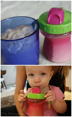 The Pierogie Mama: Toddler Friendly Smoothies Using Avocado