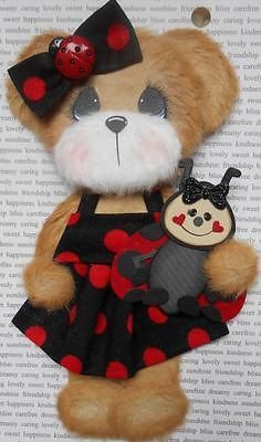 Ladybug Boutique Tear Bear Premade Paper Piecing Scrapbook 3PAPERWISHES   eBay