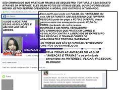 #policiafederal #ministeriopublico #cchr  USANDO FOTO DE PARENTE MEU, FAZENDO CALUNIA DE PEDOFILIA EM TODA NET CONTRA MIM, FAZENDO OFENSAS, E AMEAÇAS COM PSICOCIÊNCIA, CITANDO NOMES DE SEITAS, E DIZENDO QUE VAI PRATICAR CRIME SEQUESTRO, TORTURA, E ASSASSINATO CONTRA MIM. SEMPRE FAZENDO AMEAÇAS COM DATAS. VEJA QUEM SÃO OS ENVOLVIDOS…