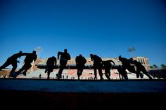 Michigan State conducted a brief walk-thru Friday afternoon in Memorial Stadium.