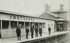 Footscray Railway Station in Victoria (year unknown). Melbourne Australia, Australia Travel, Old Pictures, Old Photos, Melbourne Suburbs, Australian Continent, Around The World In 80 Days, St Albans, Melbourne Victoria