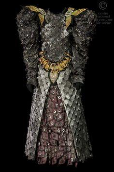 Atelier de couture de l'Opéra Garnier Paris, costume for Bertram in Meyerbeer…