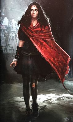 Avengers: Age of Ultron - Scarlet Witch concept art by Andy Park #Comics #Comic_Book