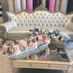 💙💕💙💕💙💕💙 Send Flowers, Pretty Flowers, Fresh Flowers, Large Flower Arrangements, Flower Boutique, Fresh Flower Delivery, Preserved Roses, Flower Boxes, Beauty Art