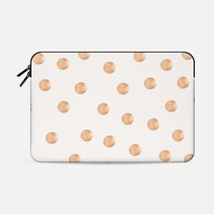 ROSE GOLD DOTS - Macbook Sleeve