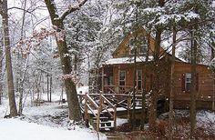 Ledge Creek Hideaway - cabin in Arkansas - one of our favorite places
