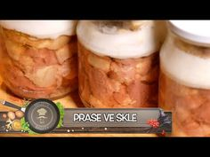 Vepřovky aneb Prase ve skle - Nejlepší recept na zavařené maso! Jednoduše a rychle! - YouTube Salty Foods, Mason Jars, Canning, Youtube, Hampers, Essen, Mason Jar, Home Canning, Youtubers
