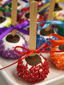 Brownie Pops...cute!