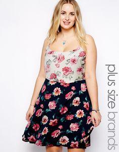 Alice & You Mixed Rose Print Cami Dress