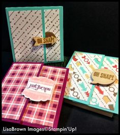 Stampin' Up! Video Tutorial Post It Note Holder