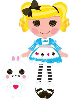 Lalaloopsy w MiniMini+ - sekcja z grami i zabawami dla najmłodszych Lalaloopsy Party, Nick Jr, Google Classroom, Cool Cards, Minis, Babys, Pikachu, Alice, Snoopy