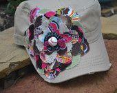 Baseball Mom Flower cap #EasyPin