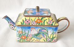Nivag Collectables: Charlotte di Vita - Rooster: Trade Plus Aid Teapot Rooster - 551