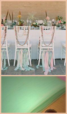 Mint Green Wedding Chairs