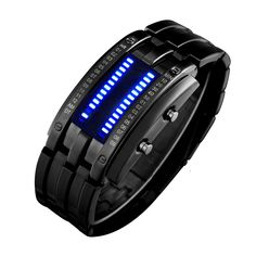SKMEI Binary Watches, $11.00 on amazon... who thinks I am hard to shop for?