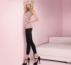 SENSUAL 70 LEGGING Hosiery, Capri Pants, Leggings, Fashion, Socks, Capri Pants Outfits, Moda, Capri Trousers, Sock