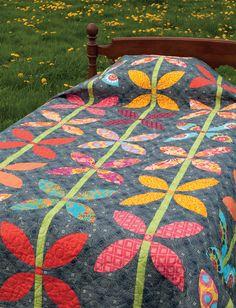 Your brightest, happiest scraps belong in this quilt!