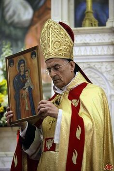 """""""The crisis in Syria should be resolved with diplomacy and the tragedies we are seeing are unacceptable,"""".  He said the conflicting sides in Syria should look to resolve their disputes through peaceful means, saying: """"Not everything can be resolved using iron and fire.""""  - Patriarch of the Maronite Catholic Church, Bechara Peter Rai on the situation in Syria."""