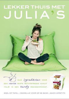 Lekker eten bij Julia's op het Station in Utrecht!