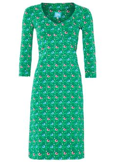 SE HER: Tante Betsy kjole TWEETY Birdie Green