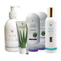 Forever Living Products has combined all the benefits of aloe vera gel with the finest quality ingredients to offer you a range of natural personal care products that are second to none. From head to toe, our products have you covered with pure, stabilized Aloe Vera. From lotions and gels to shampoos and cleansers, look and feel your best with our complete Personal Care line!
