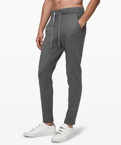 City Sweat Pant Slim Fleece - These slim-fit sweat pants are made with performance Fleece fabric to keep you warm and comfortable from workout to hang out. Mens Sweatpants, Joggers, Slim Pants, Sweat Pants, Boyfriend Tee, Full Zip Hoodie, Fleece Fabric, French Terry, Hoodies