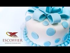 Decorating A Cake With Fondant - YouTube