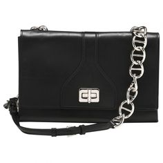 91fb7ad7340416 PRADA Leather handbag Black Leather Handbags, Dust Bag, Handbag  Accessories, Shoulder Strap,