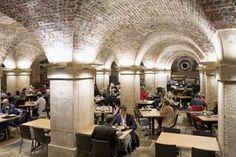 Take tea in a crypt below Trafalgar Square in London England Uk, London England, Voyage Europe, Trafalgar Square, Travelling Tips, Traveling, Exotic Places, Europe Destinations, London Calling