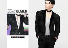 Festive Blazer • New mesh / EA mesh edit • Category: top (men) • Age: teen / young adult / adult / elder • 8 swatches Download: SimFileShare | Dropbox