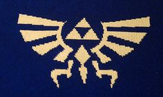 Hylian Royal Crest Blanket - Legend of Zelda