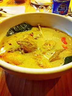 Garang Asem | west Java's food | chicken curry, tomatoes, lemon