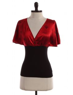 bebe - Size M - Tops - Twice STRETCH SILK Shell: 78% silk, 22% spandex. Trims: 95% silk, 5% spandex. Dry clean only. SIZE M / MEDIUM  Length 21 in. Bust 34 in. Sleeve Length 8 in.