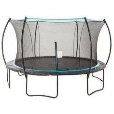 14' Cirrus Round Trampoline with Enclosure