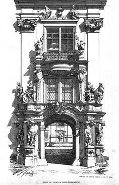 Entrance to the St. Florian Stift, Austria