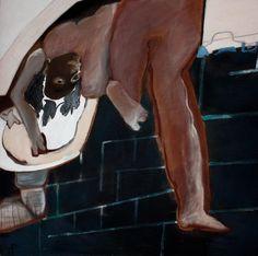 mapart.me:   Teresa Pągowska - Myjąca głowę z cyklu figury magiczne