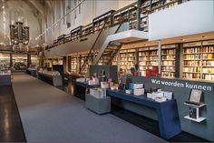 Boekhandel Waanders in de Broeren te Zwolle door BK Architecten - roomed.nl
