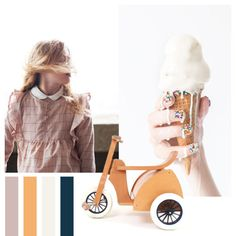 02⎥16 moodboard aureliedhuit.com #moodboard #tendance #February #Février #inspiration #design #graphic #graphisme #bike #velo #enfant #child #glace #ice-cream #wood #bois #nailart #enfance #childhood #candy #bombon #couleurs #colors #pink #rose