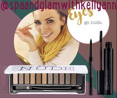 I LOVE this #nude #eyeshadowpalette! It is the PERFECT compliment to your #FallWardrobe!!!!   Tip of the day... when going for a nude eyeshadow look, use a dark eyeliner and mascara to give a #smokeyeye accent to the lighter shades. It is the perfect look 👀 for Fall 🍂🍁🍂🍁🍂🍁🍂🍁🍂🍁  www.spaandglamwithkellyann.com Facebook & Instagram: @spaandglamwithkellyann 440-346-6003 kelly@spaandglamwithkellyann.com